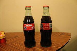 Toronto Maple Leafs Coke bottles Cambridge Kitchener Area image 1