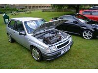 Vauxhall nova 2.0 8v 170bhp
