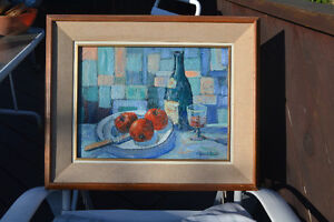 , Roland Dostie( 1919) LISTED ARTIST OIL PAINTING MINT