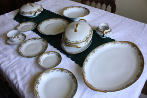 75 PIECES OF LIMOGE CHINA