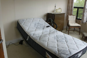 Leggett and Platt Silver Essentia Adjustable  Bed with Mattress