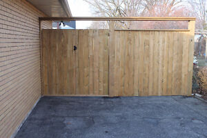 Gate & fence repair.  Deck repairs Kitchener / Waterloo Kitchener Area image 3