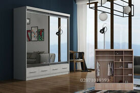 Marko Mirror Door Wardrobe--Amazing Offer