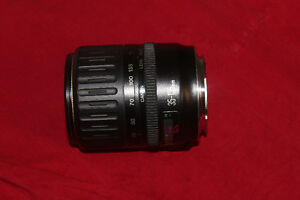 35-135mm Canon camera lens