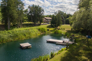 5-Bedroom Home on Spectacular Lot with Stocked Pond