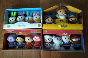 Itty Bittys - 4 Sets - Disney Easter - Rainbow Brite + 2 more