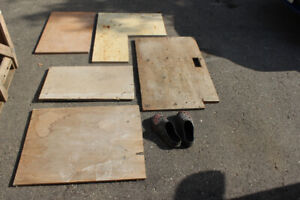 """Free 3/4"""" plywood pieces"""
