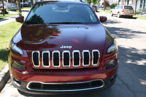 2015  Jeep Cherokee   Limited  SUV Crossover