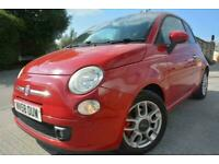FIAT 500 SPORT 1.4*LOW MILEAGE*ONLY 54K MILES*FULL SERVICE HISTORY*FULL LEATHER*