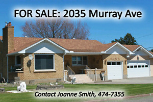 Yard Sale & Open House: 2035 Murray Ave