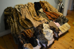 REAL FURS!!! GOOD PRICES
