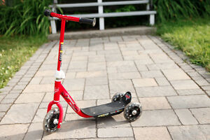 Trotinette à 3 roues / 3 wheel scooter