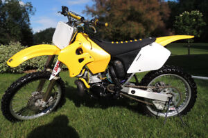 1996 RM250 restored/mint with ownership