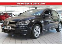 2015 15 VOLKSWAGEN GOLF 1.6 MATCH TDI BLUEMOTION TECHNOLOGY DSG 5D AUTO 103 BHP