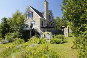 SOLD! An Exquisite Waterfront Home/Cottage