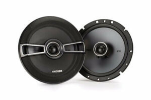 "Kicker KSC65 Coaxial Speakers 6-1/2"" - 60 Watts RMS"