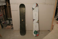 SNOWBOARD BURTON ALPHA 147 ET TROOP 151