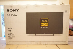"""Sony 49"""" 4K UHD LED HDR Android Smart TV (XBR49X800E)"""