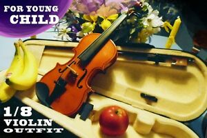 1/8 VIOLIN OUTFIT ***SMALL!*** for CHILD age 5? 6?