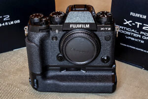 Fujifilm X-T2 with Battery Grip - Like New Condition