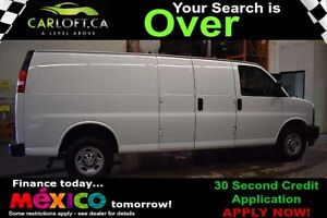 2017 Chevrolet Express CARGO VAN - LOW KMS**AUX**TINTED WINDOWS