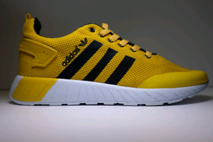 Yellow adidas shoes brand new