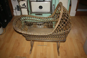 Antique Baby Basket