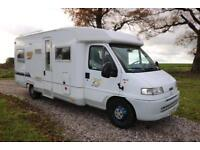 Burstner Active T618 LHD 4 Berth Low Line Motorhome MANUAL 2003/52