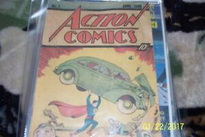 ALL NUMBER ONE COMICS