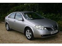 AUTOMATIC Nissan Primera 1.8 SE with SERVICE HISTORY and NEW MOT done 62573