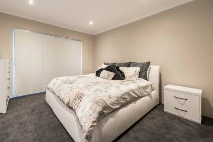 Leather King Size Bedroom Suite (New for $7,750 -sell for $2,350)