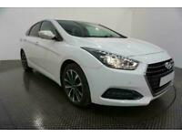 2016 WHITE HYUNDAI i40 1.7 CRDI BLUEDRIVE SE NAV AUTO CAR FINANCE FR £177 PCM
