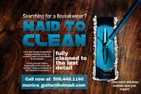 Very Experienced and Professional Housecleaner