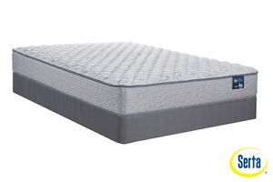 Brand NEW Serta Island Stay Qn Mattress Set!Call 780-437-0808!