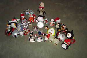 over 100 penguin ornaments