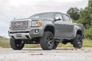 Rough Country- Ext Ailes Fender Flares Pockt Style Canyon 15-18