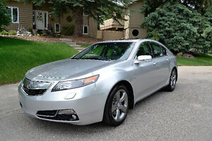 2014 Acura TL SH-AWD with Tech Package (METALIC SILVER)