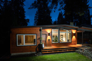 North Vancouver Mid Century Modern Post & Beam House for Sale