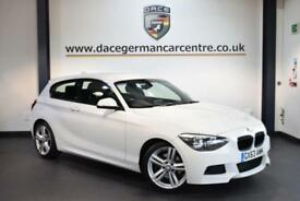 2013 63 BMW 1 SERIES 2.0 125D M SPORT 3DR 215 BHP DIESEL