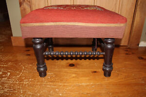 Old Antique Foot Stool London Ontario image 5