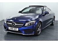 2016 Mercedes-Benz C Class 2.1 C220d AMG Line (Premium) Coupe 2dr Diesel G-Troni
