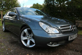 Mercedes-Benz CLS320 3.0CDi 7G-Tronic 320 ONE FORMER DR OWNER FULL MERC HISTORY