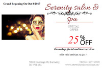 25% Off Services!!!