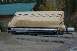 Navigloo Winter Tarp System for up to 30' Pontoon Boat