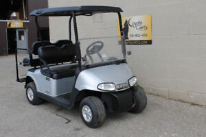 2015 Silver EZ-GO RXV ( Electric Golf Cart )