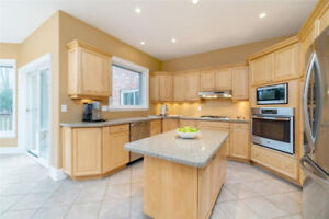 Kitchen with Countertops, island and sink OBO- appliances extra