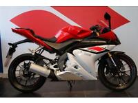2015 15 YAMAHA YZF-R125 ABS RED/WHITE