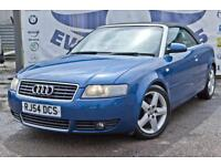 2005 AUDI A4 1.8T SPORT AUTOMATIC CABRIOLET GREY LEATHER HEATED SEATS BOSE UPGRA