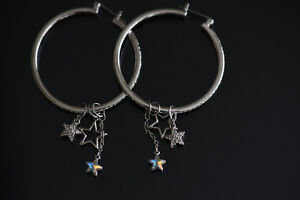 MASH HOOP EARRINGS SWAROVSKi Boucle D'oreille