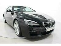 2017 BLACK BMW 640D 3.0 M SPORT DIESEL AUTO 2DR COUPE CAR FINANCE FR £450 PCM